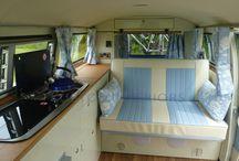 VW camper internal / Ideas for VW transporter layout