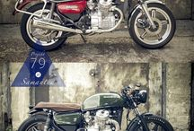 Cafe Racer - Before & After
