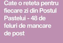 retete de post