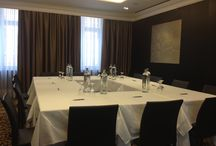 Set Up A Meeting / The key to success is good collaboration. Our meetingroom is  tailored to your needs and fully equipped and set up for multimedia presentations. / by Hotel Prinsenhof