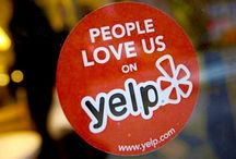 Online Reputation / Your reputation is important off and online. Think Yelp, YP (yellowpages), Google reviews, Trip Advisor etc. Make sure your reputation represents you in a positive light: / by Bixa Media