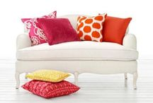 Custom Decorative Pillow Covers - 13 Sizes & 100s of Fabrics / Custom Decorative Pillow Covers