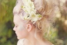 Beautiful Bridal Up-do's