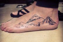 tatuaż stopa