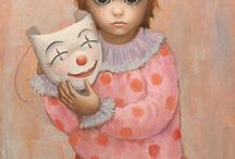"Margaret Keane, originator of the ""big eyed painting"""