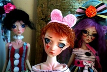 Awesome Art and Art Dolls / by Jill Stephens