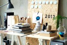 workspace / by Anna Tomietto