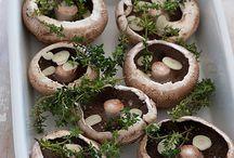 Vegan - Mushrooms