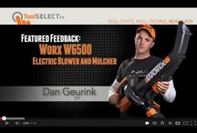Product Review Videos / by WORX Tools