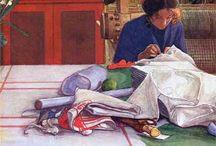 Carl Larsson / les peintures de Carl Larsson