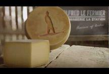 Alfred Le Fermier / Fromage Biologique. Au lait cru de vache. Pâte ferme. http://www.fromagerielastation.com/