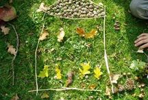 Nature Art / Creating art from natural things around you is fun and a great way of connecting with nature.