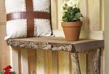 decoracion  casa en madera