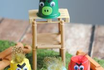 Kids Crafts - Movie Related / Awesome Kids Crafts related to kids movies and cartoons!