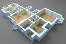 Projetos em 3D / Desenvolvemos projeto 3D através do possesso de modelagem, ilustrações e texturização em renderização 3D. Trabalhamos com projetos 3D para Indústria, designer, arquitetos e construtoras.