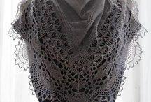 Knitting. Shawls