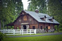 Barns / A collection of my favorite things / by Lisa Wiegand