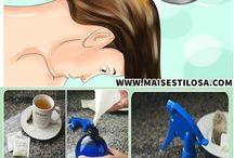 chás para cabelo