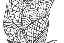 Sierlijke patronen