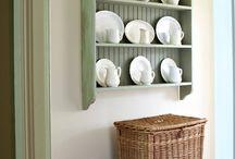 Dressers and plate racks