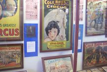 Circus Posters / Here are just a few of the Circus Posters on display at the International Circus Hall of Fame