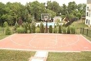 Basketball Court / Paver Basketball Court