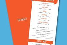 guest comment card