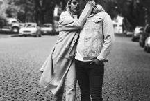 Michael Ronda y Valentina Zenere