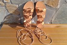 Greek Handmade leather Sandals / Handmade 100% genuine cowhide leather!!!! Great designs for your summer vacation!!!!!