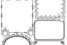 Desenhos De Molduras