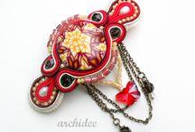 Archidee Shop / Vendita di gioielli artigianali realizzati a mano con le paste polimeriche, con la tecnica soutache, con la tecnica bead embroidery e con la tecnica wire wrapping
