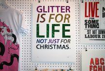 Sparkles,Glitter, Shimmer.
