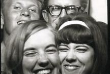 Old photo booth pictures / by Helen .