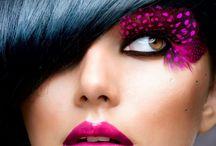 MAKIJAŻ ARTYSTYCZNY / Inspiracje---makijaż kreatywny, sceniczny.....
