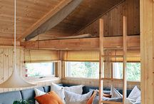 sove hytte moodboard