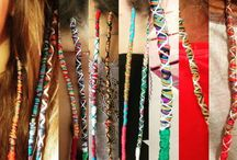 Hair Tapestries / Women Are Weaving A Ton Of Thread Into Their Hair To Make #HairTapestries If you're into fashion then why not try using embroidery hoops to achieve this new #LatestHairTrend? Once have it, fix yourself with www.DelicateCaressCosmetics.com to fit best.