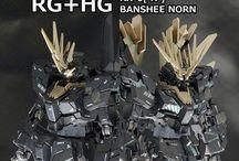 1/144 RG-0 Banshee Norn Gundam