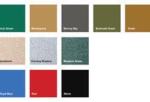 Colours available / The JoJo Tanks colour range