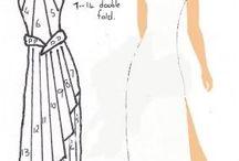 Dresses iris fold