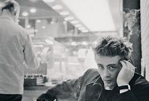 ebony / . james dean.