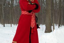 European Ethnic clothes