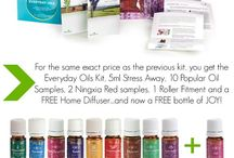 Young Living Oils / by Kelly Backlund