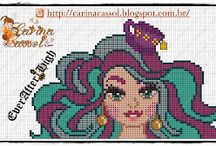 Cross Stitch Ever After High