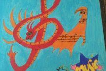 Paintings / tekeningen & schilderijen