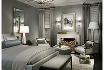 grey sparkle bedroom