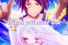 "No Game No Life / ""If someone wishes to fly, will that let him grow wings? I don't think so. You don't change yourself. You change how you approach the problem."" - Sora"