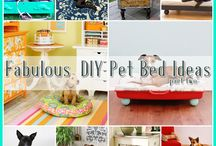 25 Fabulous DIY Pet Bed Ideas Part 2 / by The Cottage Market