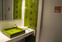 Green Bathroom - LA METÁFORA Restaurant