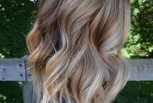Cabelos penteados