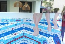 kilim painting
